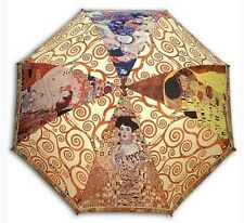 Klimt collection painting long size automatic umbrella