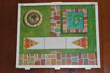 Vintage 1970 Barbie Lively Livin House Panel Part Base Shuffleboard Pond