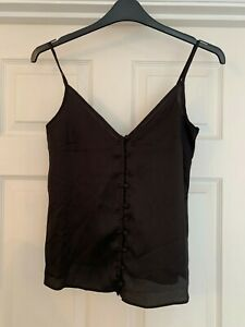*NEW* Nobody's Child BUTTON UP CAMISOLE TOP Size 8 - RRP £18