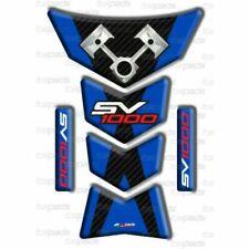 Paraserbatoi blu per moto per Suzuki