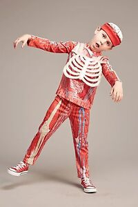 NEW! Body Parts costume for kids 8 years. Halloween, Skeleton, Dress up