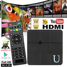 U TV KODI 18.0 Smart TV Box Quad-Core Android 7.1 4K UHD