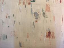 Peinture John Franklin Koenig Signé Art Abstrait abstraction Américaine 1954