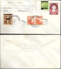 Philippines uprated Postal Stationery Cover 1943 WW2.