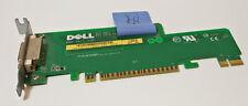 DELL Optiplex 740 DVI Scheda di visualizzazione interno 0jk171 Adattatore PCI a basso profilo PCIe