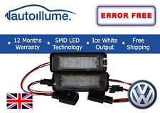 VW Golf GTI R R32 Mk5 Mk6 Mk7 Canbus Compatible DEL Licence Plaque D'immatriculation lights