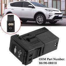 AUX USB Port Adapter Jack For Toyota Rav4 Camry Yaris Corolla Avalon