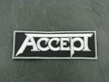 Patches Patch Aufbügler Aufnäher Accept Hard Rock Heavy Metal Speed Power Metal
