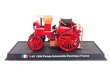 1:43 Diecast Fire Engine France Pompe Automobile Electrique 1900 Fire Vehicle