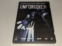 WWE UNFORGIVEN 2007 Wrestling PPV DVD 2-Disc Set w/ XBOX 360 SD vs RAW 2008 Demo