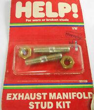 Dorman 03109 Exhaust Manifold Studs 1974-01 Volkswagen Honda - 8mm-1.25 x 38mm