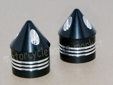 Front Axle Nut Cover Cap For Harley Softail Dyna V-Rod Sportster 1200 883 CVO