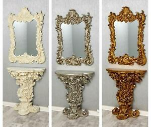 Rocco Console and Mirror Set