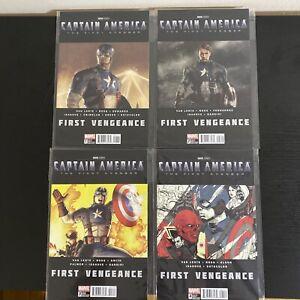 Captain America: First Vengeance #1 #2 #3 #4 Marvel  COMPLETE SET