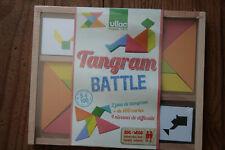 Vilac Tangram Battle - 2 jeux, + de 100 cartes, 4 niveaux de difficulté