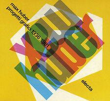 Max Huber Progetti Grafici 1936-1981 Electa Artbook in Slipcase Text in Italian