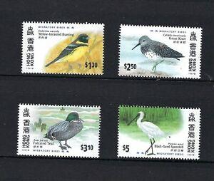 Hong Kong 1997 bird stamp set