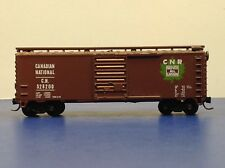 """N Scale """"Canadian National"""" CN 528200 40' Freight Train / Upgraded Couplers!"""