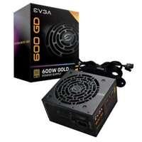 Fuente de alimentación evga gold 100-gd-0600-v2 600w - ventilador 12cm - pfc act