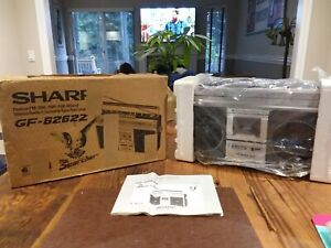 Rare in box sharp gf-6262z boombox with manual