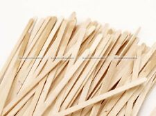 50pcs 14cm Wood Disposable Coffee Stirrers Wooden Craft Beverage Stirrers S3