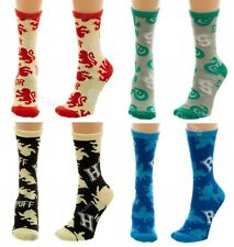 Lot of Harry Potter Junior Crew Socks GRYFFINDOR SLYTHERIN HUFFLEPUFF RAVENCLAW