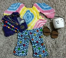American Girl retired sixties 60's hippie chick outfit costume set RETIRED EUC