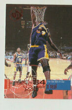 1997 -5 Time All star Shaquille O'Neal Upper Deck card#34 Lakers He wants a Kiss