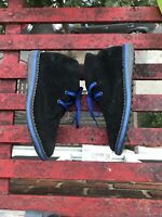 UMI Boys Desert Suede Chukka Lace Up Boot Size 1 Dress Up Back To School