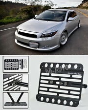 For 05-10 Scion TC Front Tow Hook License Plate Relocated Mount Bracket Holder