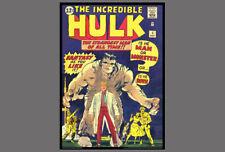 POSTER: INCREDIBLE HULK #1 (May 1962) Marvel Comics Cover Poster Reprint