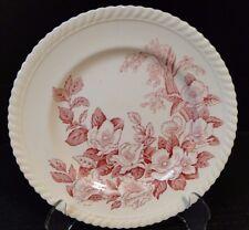 "Johnson Brothers Windsor Ware Apple Blossom Pink Salad Plate 7 7/8"""