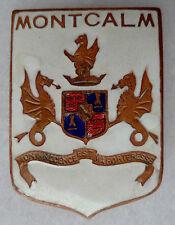 Insigne Marine FNFL FRANCE LIBRE FFL CROISEUR MONTCALM Cartier ORIGINAL WWII