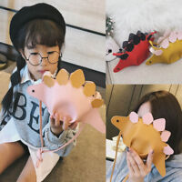 Fashion Girls Dinosaur Design Fashion Pu Leather Crossbody Mini Bag  Kids Gifts