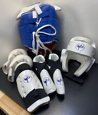 Sparring Padded GearKarate Taekwondo Size Small/Medium with Carry Duffel Bag