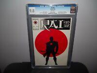 RAI #0  CGC 9.8 NM/MT  First 1st FULL BLOODSHOT Valiant 1992!!! HOT MOVIE!!