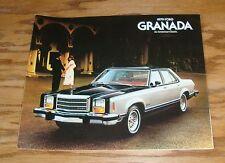 Original 1979 Ford Granada Sales Brochure 79