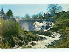 Vintage Post Card Bridge of Stone Waterfall Farm Warren Bradford  VT  # 4951