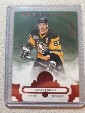 2917-18 Artifacts Ruby Sydney Crosby 233/299 - Pittsburg Penguins