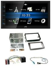 JVC 2DIN Bluetooth MP3 AUX USB Autoradio für Alfa Romeo Mito ISO 955 08-14 silbe