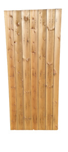 Wooden Gate, Wooden Side Gate, Tongue and Groove Board, Made To Measure,180x90cm
