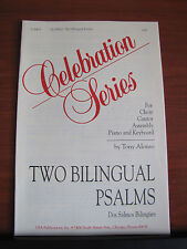 2 Bilingual Psalms- Create in Me & Words of Everlasting Life- sheet music