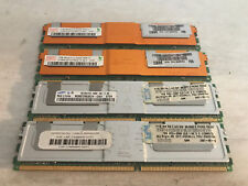 4GB DDR2 PC2-5300F ECC FB-DIMM RAM 39M5784 (2x 1GB Samsung + 2x 1GB Hynix) USED