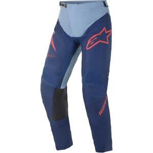 ALPINESTARS 2021 Racer Braap Pants Racing LT Blue/Blue Yamaha