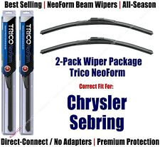 2pk Super-Premium NeoForm Wipers fit 2006 Chrysler Sebring - 16220x2