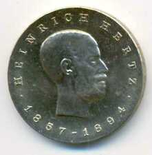 Germany Democratic Republic DDR Copper-Nickel Heinrich Hertz 5 Mark 1969 UNC