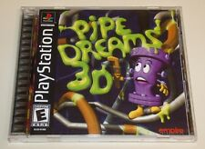 Pipe Dreams 3D  (Sony PlayStation 1 2, 2001) PS1 PS2 Complete