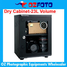 Wonderful AD026C Glass Door Dry Cabinet Camera Lens Electronic Dehumidify 23L