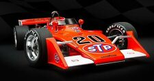 1973 GORDON JOHNCOCK STP OFFY EAGLE INDY 500 VINTAGE USAC RACE CAR 1:18 DIECAST