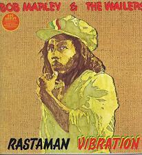 LP BOB MARLEY & THE WAILERS RASTAMAN VIBRATION REMASTERED